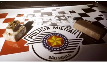 Traficantes de Lucélia são presos pela PM durante blitz de trânsito em Inúbia Paulista
