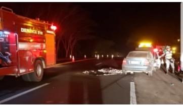 Mulher morre em acidente na SP-294, entre Osvaldo Cruz e Inúbia Paulista