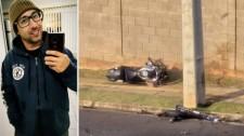 De Lucélia, rapaz de 28 morre após acidente com moto em Presidente Prudente