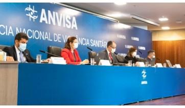 Reunião que aprovou uso emergencial das vacinas, pela Anvisa, foi neste domingo (Divulgação/Anvisa).