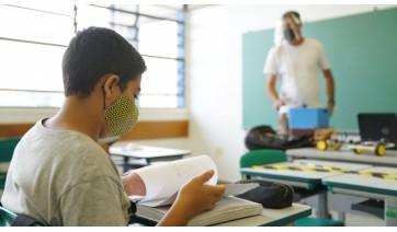 Com a nova decisão da Justiça, retorno das aulas presenciais segue programação do governo estadual (Foto: Seduc/SP).