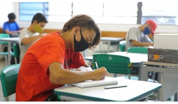 Aulas presenciai estão suspensas na rede municipal de ensino de Lucélia até 28 de fevereiro (Foto SeducSP).