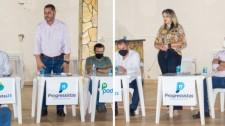 Convenção confirma Bico e Rosi Barreta pré-candidatos a prefeito e vice, e 17 nomes para a Câmara