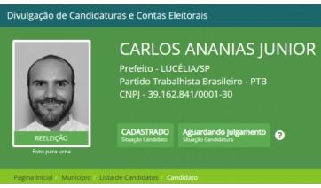 Encerrado o prazo, candidatura de Carlos Ananias Júnior recebe quatro pedidos de impugnações