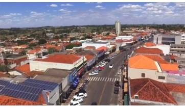 Cidade de Lucélia, que é ligada ao Departamento Regional de Saúde de Marília, entra na segunda-feira (18) na fase vermelha do Plano SP (Reprodução/PML).