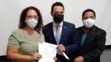 Prefeita e vice-prefeito cumprem agenda de trabalho em São Paulo