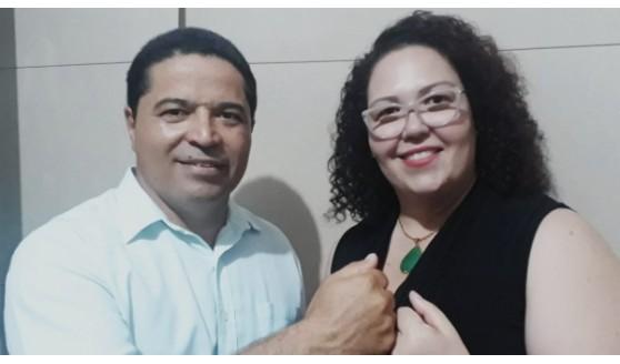 Tati Guilhermino e Marcos Lima são confirmados pré-candidatos a prefeita e vice, e 24 nomes à Câmara
