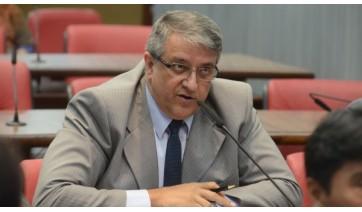 Com Covid-19, deputado estadual Reinaldo Alguz (PV) é transferido de Dracena para São Paulo, após piora no quadro de saúde (Foto: Alesp).