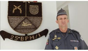 25º Batalhão da PM tem novo comandante