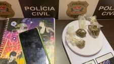Polícia Civil prende traficante de Rinópolis que fornecia drogas em Lucélia e Inúbia Paulista