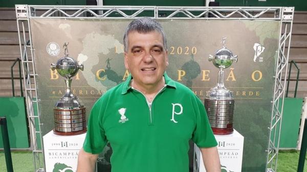 Victor Lopes foi eleito neste sábado (27) conselheiro deliberativo da Sociedade Esportiva Palmeiras, com mandato até fevereiro de 2025 (Reprodução/Redes Sociais).