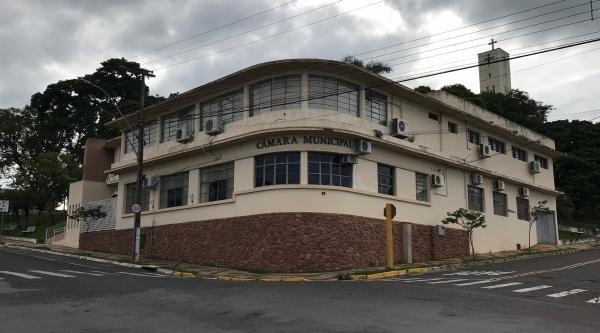 CCâmara Municipal de Lucélia (Foto: Siga Mais).