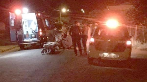 Após o acidente, homem foi socorrido (Reprodução/Inúbia News).