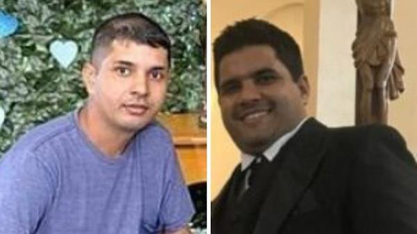 As duas vítimas, Bartogaleno Alexandre dos Santos e Donizete Alexandre dos Santos Filho, de Lucélia, estavam no caminhão (Reprodução/Funerária Lopes).