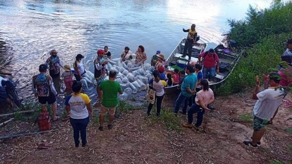 Região do Salto Botelho recebeu cerca de 20 mil alevinos (Foto: Divulgação).