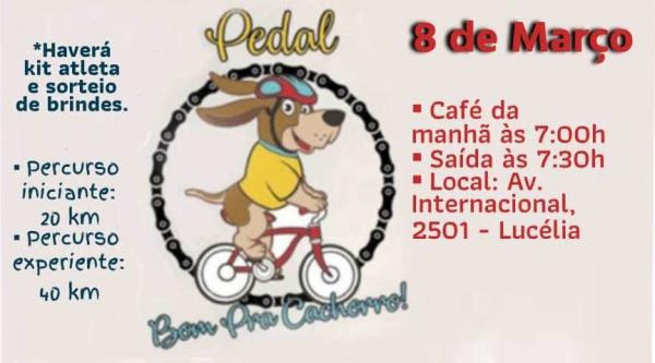 Evento acontece na manhã do dia 8 de março, domingo, em Lucélia (Divulgação).