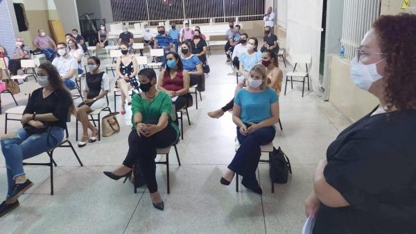 Encontro foi presido pela prefeita Tati Guilhermino (Divulgação/PML).