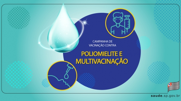 Término da campanha foi estendido com a finalidade de aumentar a cobertura vacinal e a atualização das cadernetas de crianças e adolescentes (Divulgação/SaudeSP).